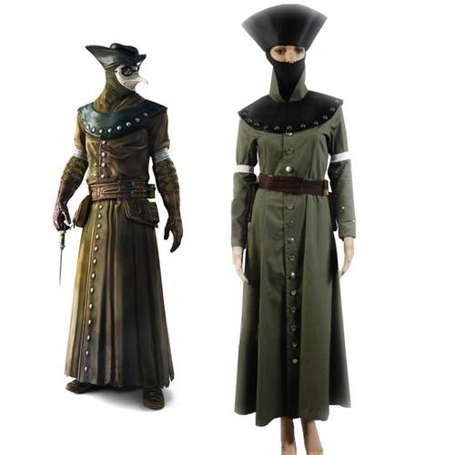 Assassin's Creed Brotherhood Doctor Cosplay Costume