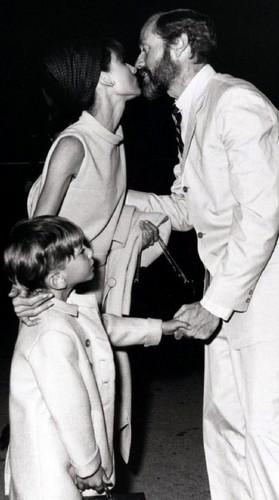 Audrey Hepburn, Mel Ferrer & Sean