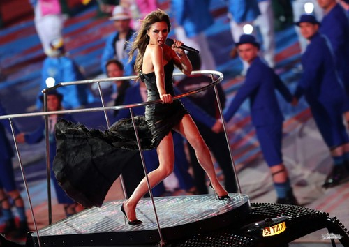 Aug. 12th - London - Spice Girls at London 2012 Olympics Closing Ceremony
