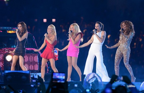 Aug. 12th - London - Spice Girls at London 2012 Olympics Closing Ceremony - spice-girls Photo
