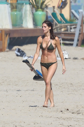 August 12 - At a spiaggia in Malibu