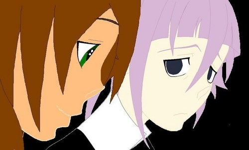 Ayako and Crona :D - soul-eater Fan Art