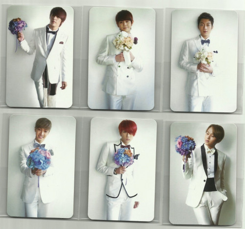 """B2ST 'Midnight Sun"""" Limited Edition Scans"""
