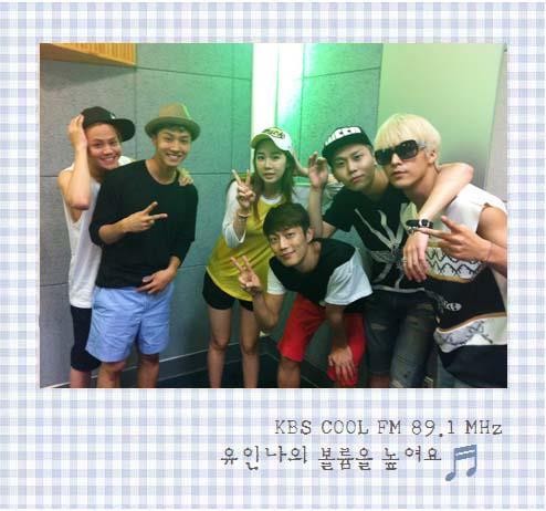 BEAST at Yoo In Na's 'Raise the Volume' Radio
