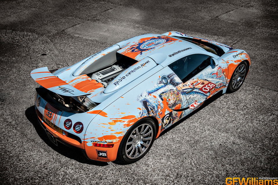 Sports Cars BUGATTI VEYRON (Art Car)