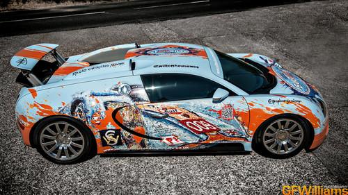 voitures de sport fond d'écran probably with a stock car and an auto racing titled BUGATTI VEYRON (Art Car)