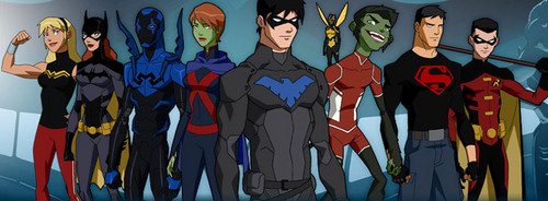 Young Justice wallpaper titled Banner