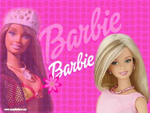 Barbie wallpaper containing a portrait and attractiveness entitled Barbie