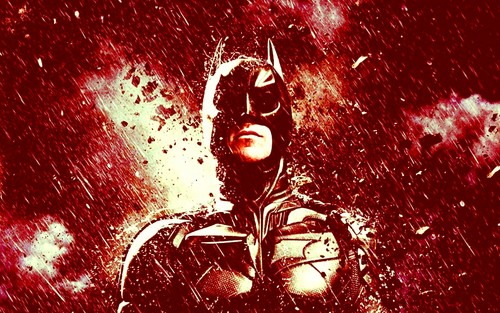 The Dark Knight Rises wallpaper entitled Batman