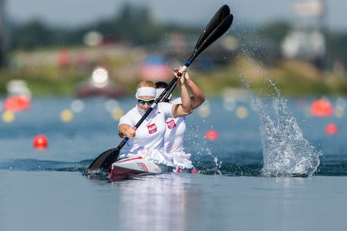 Beata Mikoajczyk &amp; Karolina Naja won the bronze medal! - poland Photo