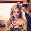 Behind the Scenes- Dianna Agron - malavita photo