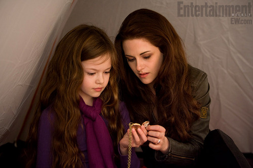 Bella Swan wallpaper possibly with a hood, an outerwear, and a well dressed person titled Bella Breaking Dawn