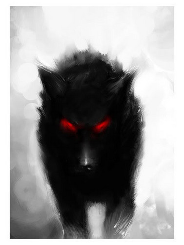 Beware!!! Here comes the dark wolves!