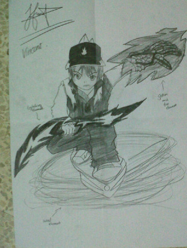 BoBoiBoy Fanart by my friend