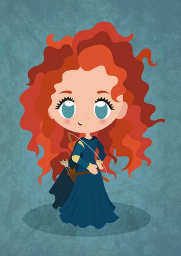 Công chúa tóc xù fanarts