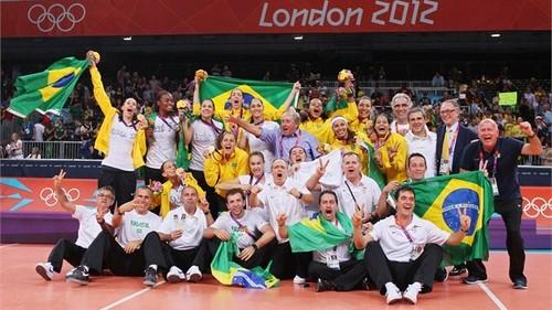 Brazil wins dhahabu in women's mpira wa wavu
