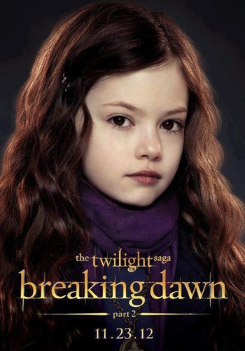 Breaking Dawn part 2: Official Renesmee promo poster