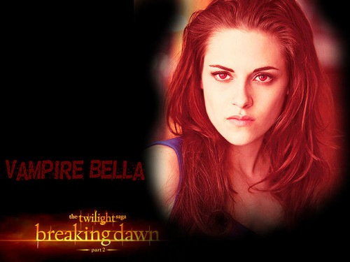 Twilight Series wallpaper possibly with a portrait titled Breaking Dawn part 2 [wallpapers made by me]