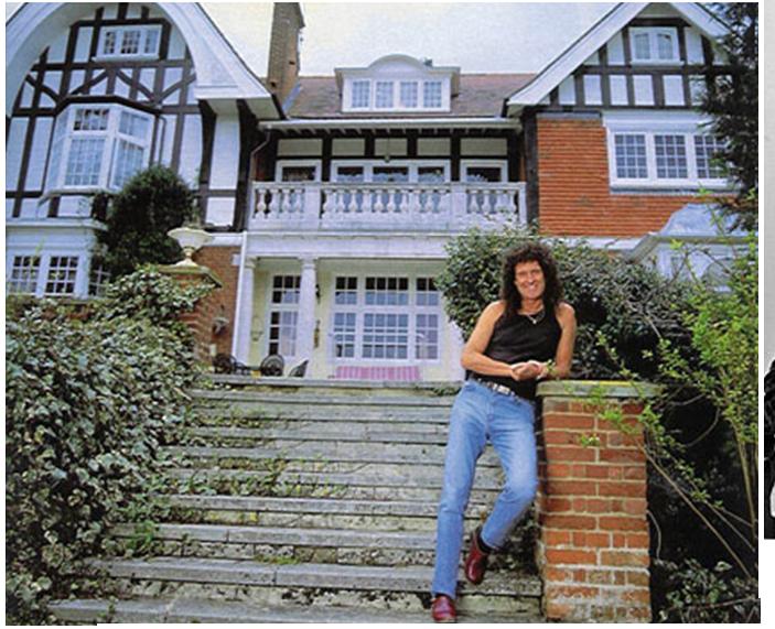 Brian's house Surrey , England