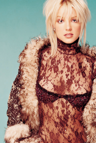 Britney Spears wallpaper possibly with a fur coat entitled Britney