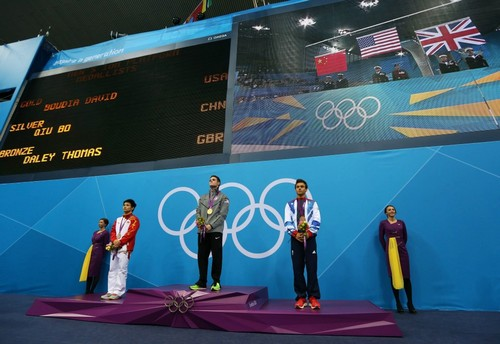Bronze Olympic Medal Celebrations 2012 (11/08/12)