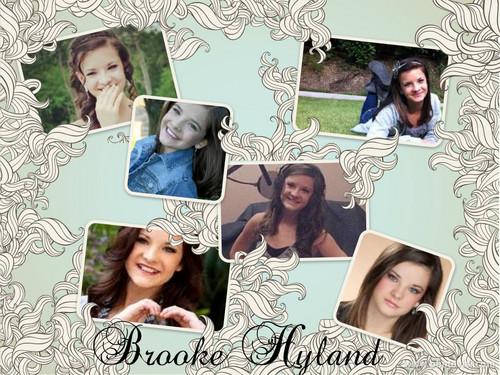 Brooke Hyland collage