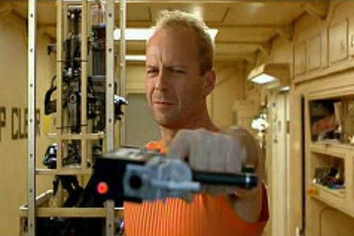 """Bruce Willis wallpaper called Bruce In """"The Fifth Element"""""""