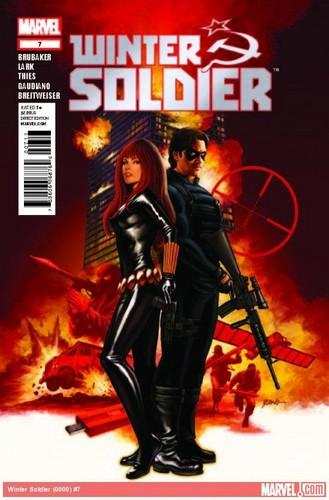 Bucky & Natalia (winter soldier soldier comic)