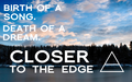 CLOSER TO THE EDGE WALLPAPER