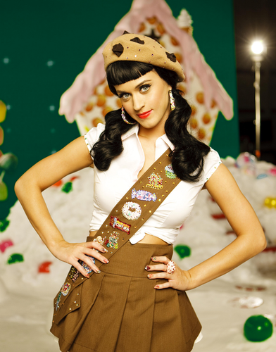 katy perry wallpaper probably containing an outerwear, a well dressed person, and a pakaian bermain, playsuit called California Gurls