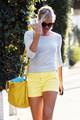 Cameron Diaz and Portia de Rossi Leave a Salon in LA [August 9, 2012] - cameron-diaz photo