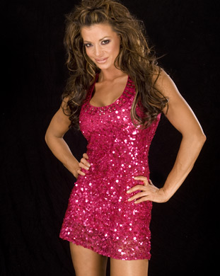Candice Michelle achtergrond called Candice Michelle Photoshoot Flashback