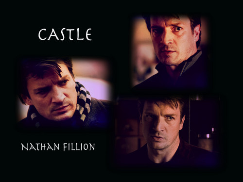 Castle Nathan Fillion - castle Fan Art