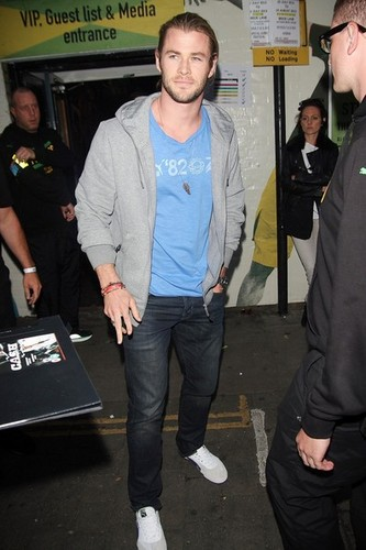 Celebs at the Jamaican Independence Day Party - chris-hemsworth Photo