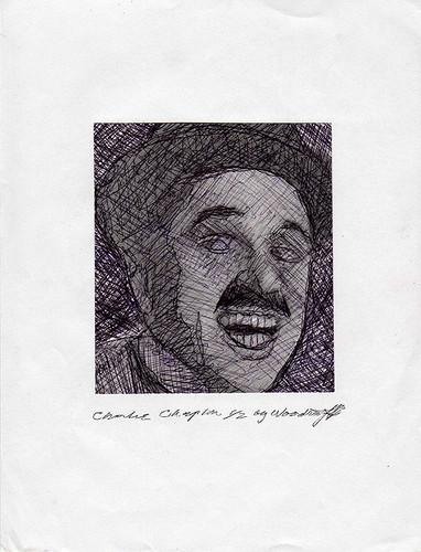 Charlie Chaplin karatasi la kupamba ukuta called Charlie