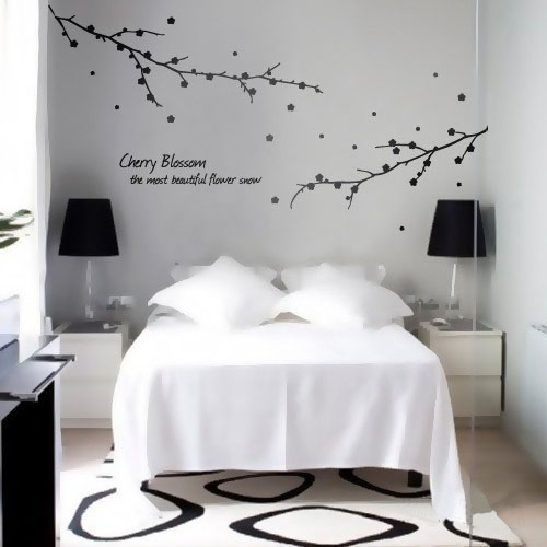 Cherry Blossom The Most Beautiful Snow Wall Sticker