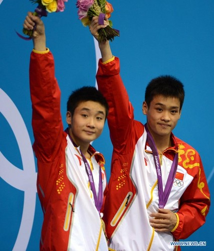 China claims another olympic diving medal