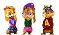 Chipmunks mixed up - alvin-and-the-chipmunks fan art