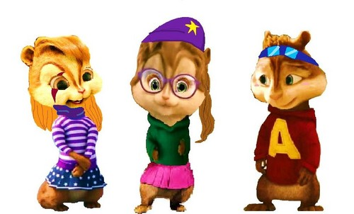 Alvin and the Chipmunks wallpaper entitled Chipmunks mixed up