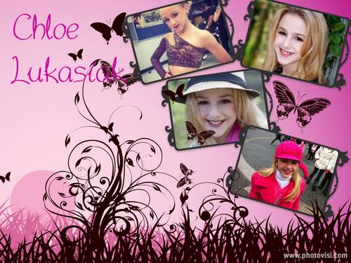 Chloe Lukasiak collage