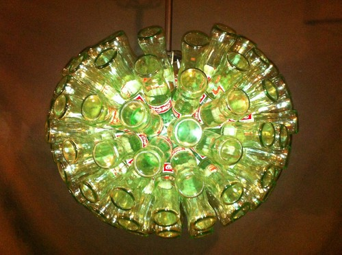Coca Cola Bottle Chandelier - coke Photo