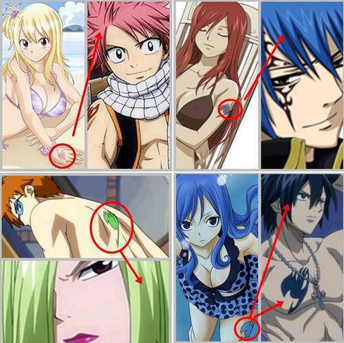 Fairy Tail karatasi la kupamba ukuta with anime entitled Coincidence? or... <3