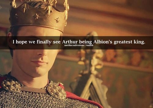 Confession: King Arthur of Lore