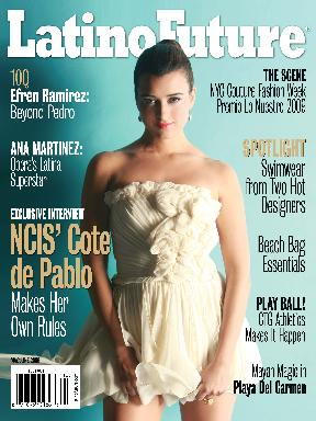 Cote de Pablo Cover Photo - Latino Future Magazine
