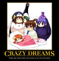 Crazy dreams! - kyon-the-melancholy-of-haruhi-suzumiya fan art