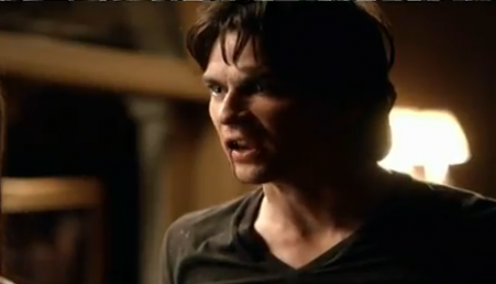TV Male Characters kertas dinding containing a portrait entitled Damon Salvatore