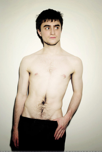 Daniel Radcliff hình nền containing a hunk, swimming trunks, and a six pack entitled Daniel Radcliffe