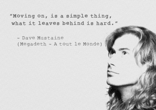 Dave Mustaine Quote