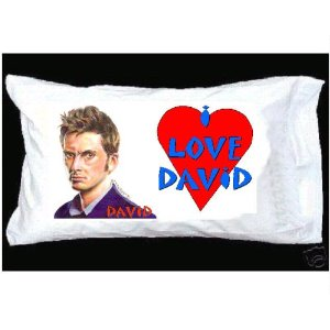 David Tennant pillow <3