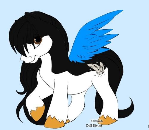 Dilara as pony